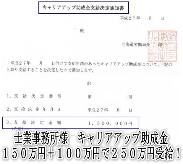 キャリアアップ助成金増額-2月10日予定